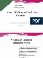 Violenta in Familie ( Oancea Gabriela - Grupa 8 )