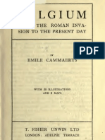 Belgium, From Roman Invasion to the Present Day, Emile Cammaerts
