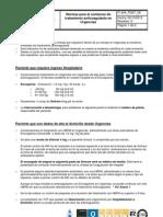 Normas Para El Comienzo de Tratamiento Anticoagulante