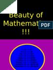 Beauty of Maths