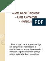 Junta Comercial e Prefeitura