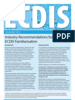 ECDIS - Industry Recommendations for ECDIS Familiarisation