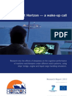 Project Horizon - Sleepiness & Watchkeepers - Research-report-2012