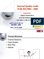 27316640 Internal Quality Audit for ISO 9001 2008