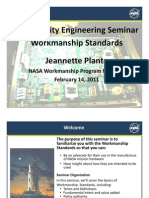 Workmanship Standards QE Seminar
