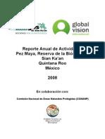 Reporte Actividades Pez Maya Para La CONANP 2008