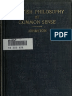 Selections From the Scottish Philosophy of Common Sense - Adam Ferguson, Ed. G. A. Johnston (1915)