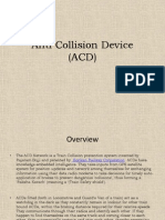 Anti collision device