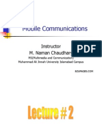 Lecture 2- Chapter 1 Introduction Mobile Communications Jochen Schiller