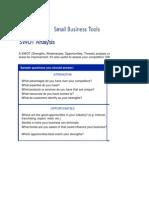 Sample Swot Analysis3