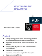 General Energy Analysis