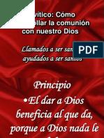 Levítico santidad practica IV IBE Callao