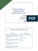 do a Usabilidade Do Windows XP