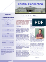 Central Connection Volume 6, Issue 1 January 2013