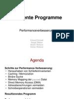 Effiziente Programme