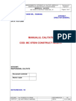 Manual Calitate