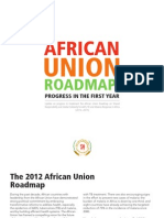 Update on progress to implement the African Union Roadmap on Shared Responsibility and Global Solidarity for AIDS, TB and Malaria Response in Africa (2012–2015)