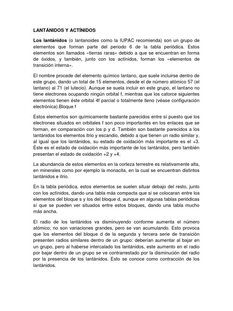 Lantnidos y actnidoscx urtaz Images