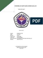 Makalah Pkn - Bab 1 - Pndhln - Rule of Law - 310513