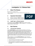 TEMS Investigation 14.1 Release Note