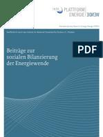 Energiewende Bilanzierung