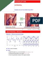 signal modelling