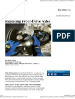 Popular Mechanics - Replacing Front-Drive Axles
