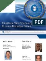 Tranform Your Finance Organization Fin