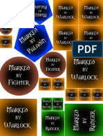 4e player marked tokens