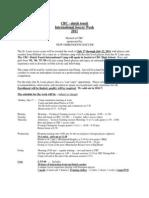 2011 International Camp Info Application