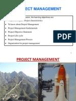 Project Management Chapter 1
