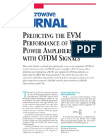[MWJ0405] Predicting the EVM Performance of WLAN Power Amplifiers With OFDM Signals