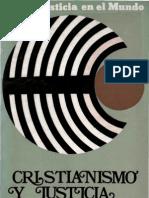 Alfaro Juan - Cristianismo Y Justicia.pdf