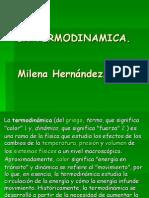 La Termodinamica Milena hernandez