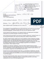 Eigentum des Volkes im Freistaat Preußen wurde angemeldet!