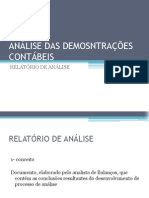 Slides Relatorio de Analise