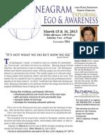 March 2013 Ego