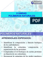 POLÍMEROS NATURALES - 4° MEDIO B