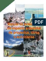 Manual Evaluacion Impacto Ambiental