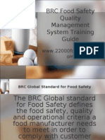 BRC Training Guide Sample
