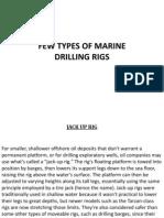 Marine Drilling Rigs