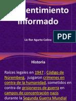 Ponencia Consentim_informado Vih Lic. Flor Agurto