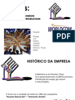 Crise Da Enron e World.com