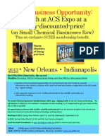Exhibit in the Small Business Row at the ACS National Meeting Exposition