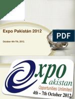 Expo Pakistan 2012 Presentation