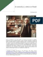 Sobre La Idea de Naturaleza y Cultura en Claude Levi-Strauss
