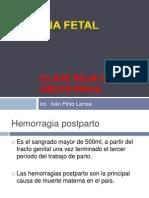 Clave Roja en Obstetricia