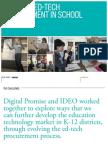 IDEO & Digital Promise Report