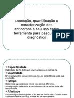 Reações Antígeno - Anticorpo