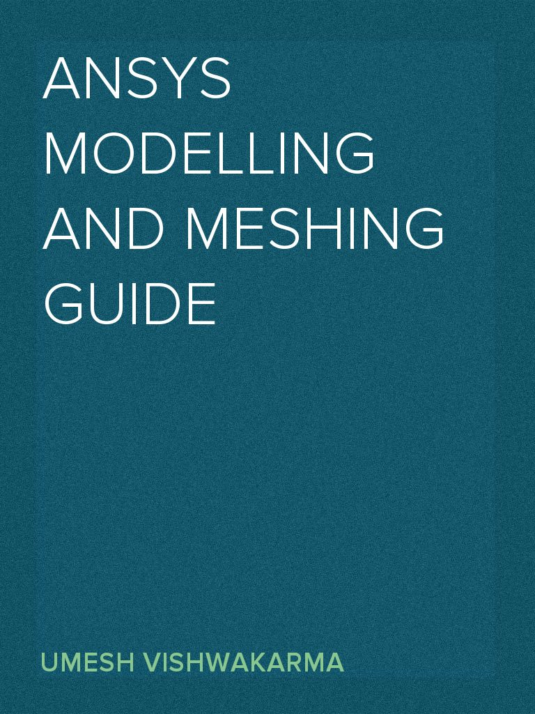 Ansys Modelling and Meshing Guide | Coordinate System | Cartesian  Coordinate System